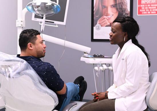 Dr Olabisi Alabi With Patient